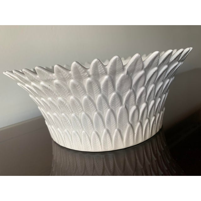 Japanese Fitz and Floyd Layered Leaf Dish For Sale - Image 3 of 12