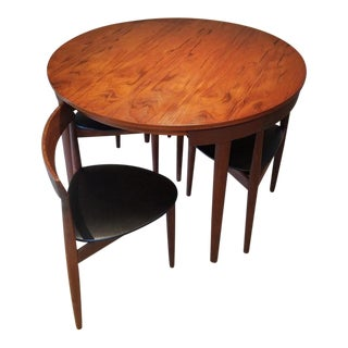 Frem Rojle by Hans Olsen Mid-Century Danish Modern Teak and Rosewood Dining Set