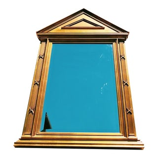 Pantheon Style Gold Gilt Mirror For Sale