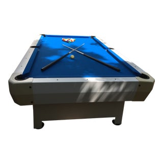 Contemporary Indoor/Outdoor Pool Table For Sale