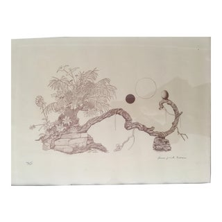 Limited Edition Philippe Henri Noyer Lithograph For Sale
