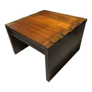 Vintage Paul Evans Brutalist Side Table For Sale
