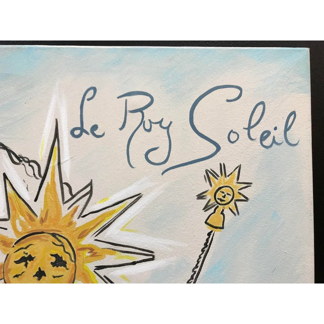 Schiaparelli Le Roy Soleil Advertising Perfume Redesigned Painting For Sale - Image 4 of 7
