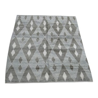 "Moroccan Diamond Design Rug - 7'8"" X 10'8"" For Sale"