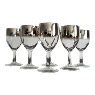 Vintage Dorothy Thorpe Sherry / Cordial Glasses – Set of 6