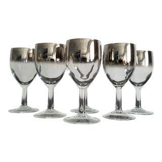 Vintage Dorothy Thorpe Sherry / Cordial Glasses – Set of 6