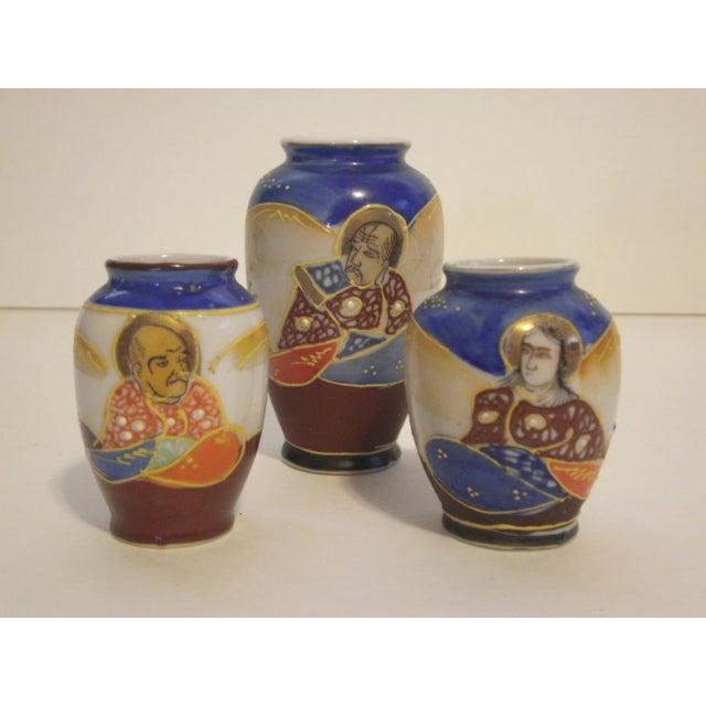 Miniature Satsuma Vases - Set of 8 - Image 9 of 11