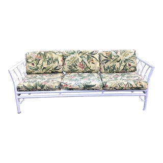 1970s Vintage Metal Bamboo Sofa** For Sale