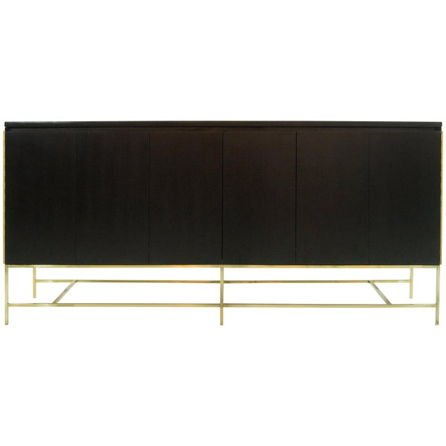 Ebonized Paul McCobb, Calvin Group Credenza, 1950s For Sale - Image 12 of 12