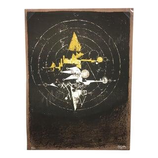 Johnny Friedlaender Original Lithograph (Rare) For Sale