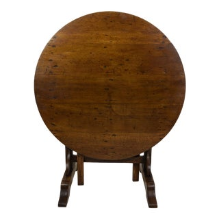 19th-Century French Wine Tasting Table For Sale