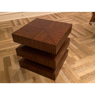 Contemporary Zebra Wood Side or End Table Preview