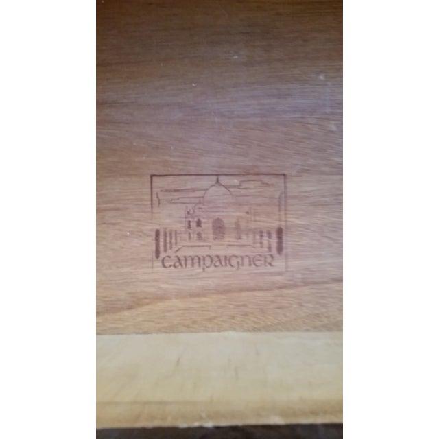 Wood & Brass Campaign Dresser - Image 5 of 7