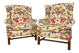 Image of Georgian Wingback Chairs