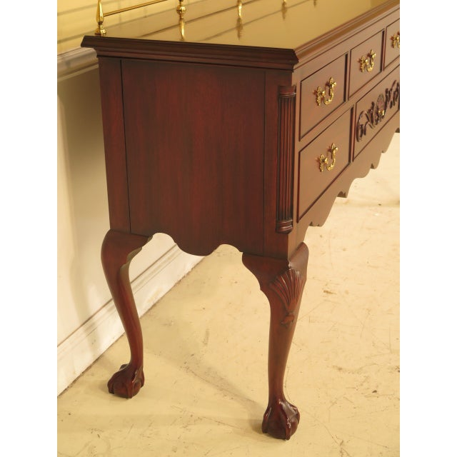 Henkel Harris Chippendale Mahogany Sideboard For Sale - Image 4 of 11