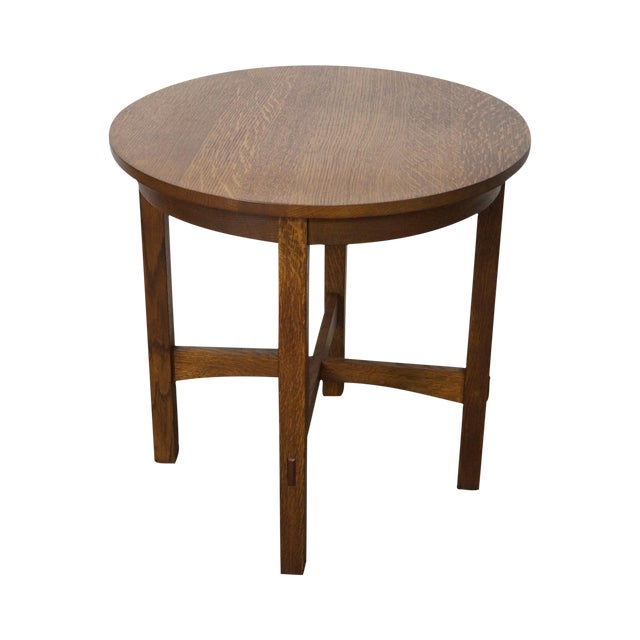 Stickley Mission Oak Side Table For Sale