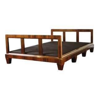 French Art Deco Macassar Ebony Daybed For Sale