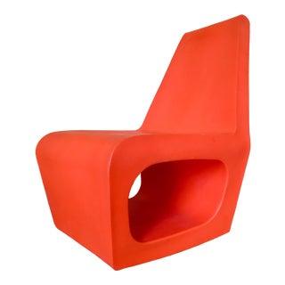 Quinze & Milan Orange Jellyfish Chair For Sale