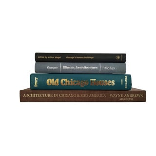 Chicago Architecture Book Collection, Set of 4
