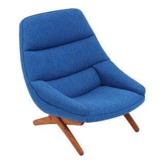 Vintage Illum Wikkelsø Danish Modern ML-91 Lounge Chair For Sale