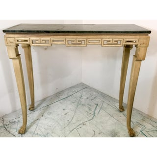 Italian Greek Key Tall Console Table Preview