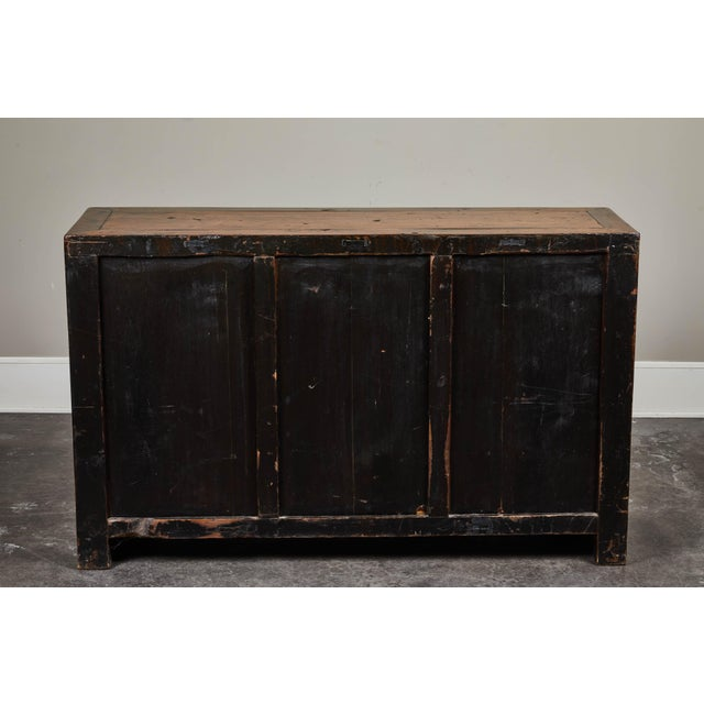 19th C. Chinese Poplar Sideboard For Sale - Image 4 of 10