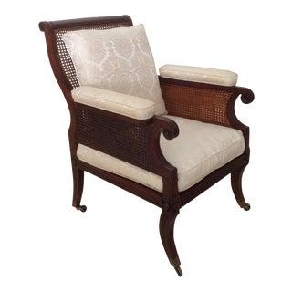 Regency Lounge Chair For Sale