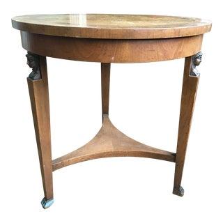 1935 Italian Baker Furniture Wood Table