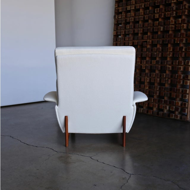 "Ib Kofod-Larsen ""Adam"" Lounge Chairs for Mogens Kold Møbelfabrik Circa 1960 - a Pair For Sale - Image 9 of 13"