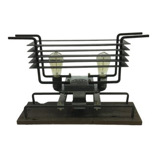 Delano Metal Table Lamp For Sale