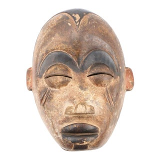 Early 20th Century Vintage South African Tribal Mask For Sale