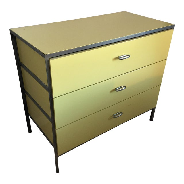 George Nelson for Herman Miller Steel/Wood Dresser - Image 1 of 7