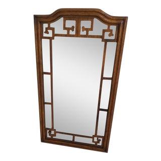 Drexel Heritage Greek Key Vintage Mirror For Sale