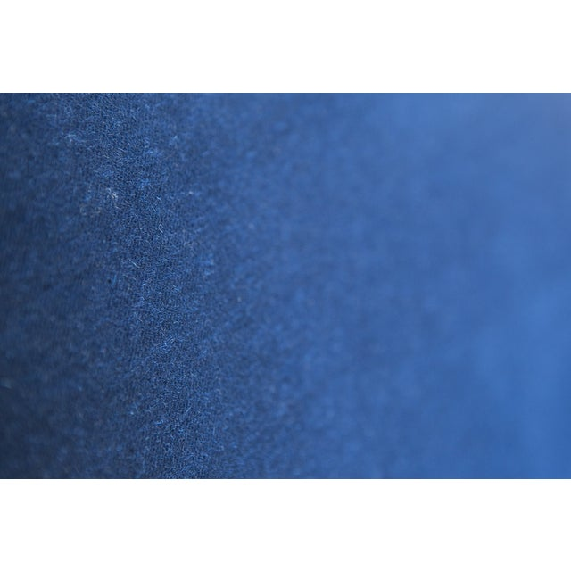 Jack Cartwright Blue Mohair Cube Chairs - Pair - Image 9 of 11