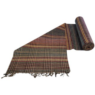 Antique Mennonite Rag Rug Runner