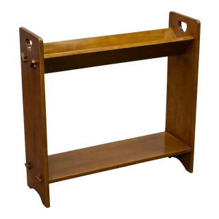 Crafters and Weavers Mission / Arts and Crafts Book and Magazine Stand Michael's Cherry (Mc1) For Sale