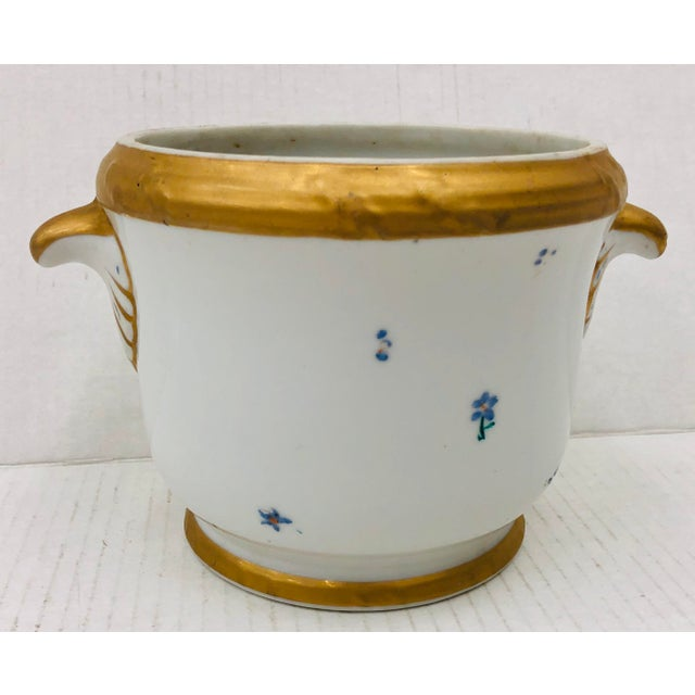 Antique Porcelain Cache Pot For Sale In Raleigh - Image 6 of 6