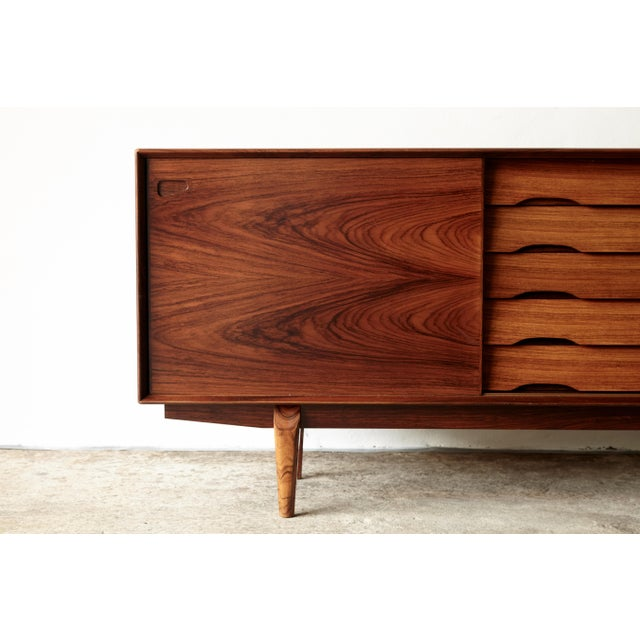 Rosewood Midcentury No. 65 Sideboard by Skovby Mobler, Denmark, 1960s For Sale - Image 6 of 11