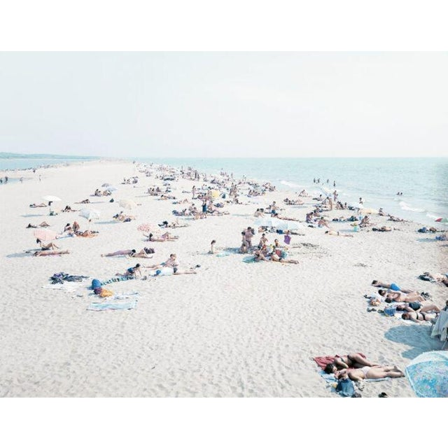 "04 Vecchiano from ""A Portfolio of Landscapes with Figures"" color photography by Massimo Vitali - Image 2 of 3"