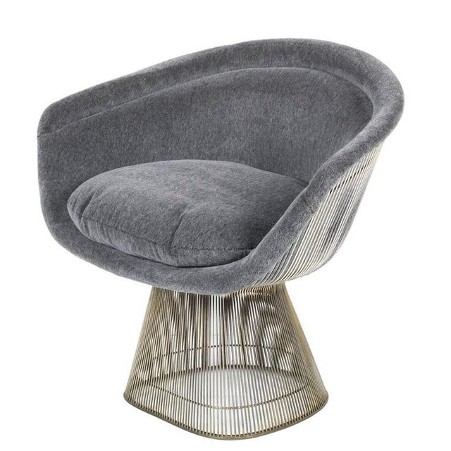 Knoll Pair Warren Platner Lounge Chairs For Sale - Image 4 of 5