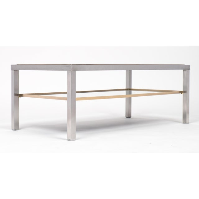Vintage French Modernist Coffee Table For Sale - Image 4 of 10