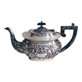 Early 20th Century Silverplate Teapot/Coffee Pot For Sale