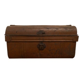 Metal Storage Chest With Handles For Sale