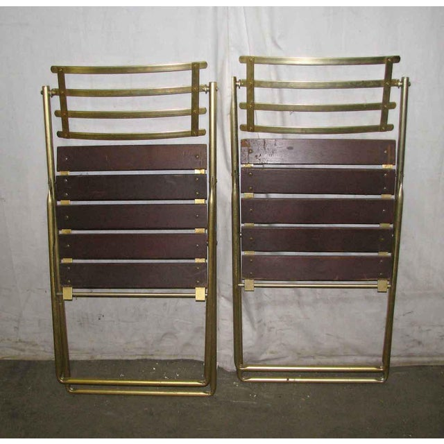 Mid-Century Modern Folding Chair For Sale - Image 9 of 10