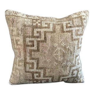 Oushak Handmade Nomadic Pillow Case For Sale