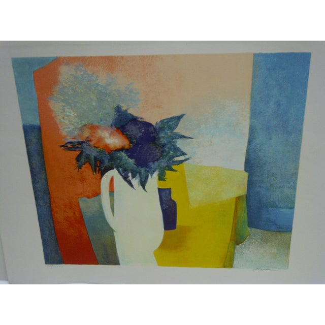 Americana Limited Edition Signed Print Spring Claude Gaveau For Sale - Image 3 of 5
