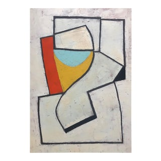 """Jeremy Annear """"Jazz-Line II"""", Painting For Sale"""