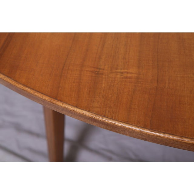 Bleached Mahogany Dining Table by Edward Wormley for Dunbar - Image 7 of 9