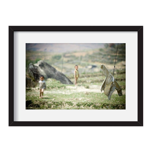 "John Boone ""Laundry Games"" Framed Print - Image 1 of 3"