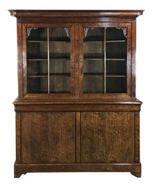 Image of Chestnut Bookcases and Étagères